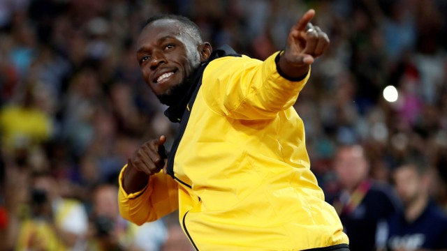 Usain Bolt bei der Leichtathletik-Weltmeisterschaft 2017 in London.