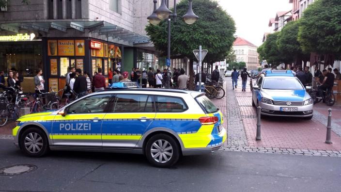Polizei beendet Gruppen-Schlägerei in Göttinger Innenstadt