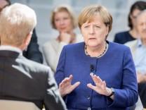 Merkel beim 'Forum Politik'