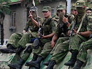 Russische Soldaten, dpa