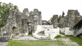 Burgruine Alttrauchburg im Oberallgäu bei Weitnau