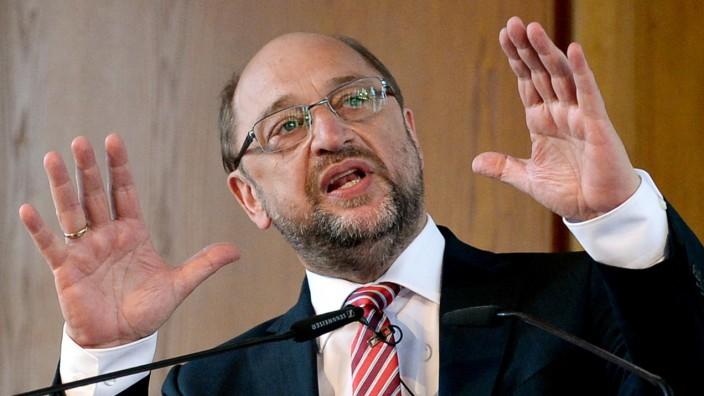 SPD-Kanzlerkandidat Schulz hält Berliner Rede