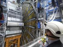 Teilchendetektor Atlas im Teilchenbeschleuniger LHC