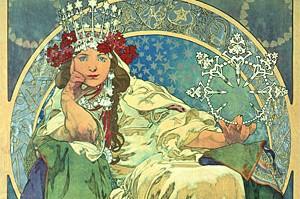 Jugendstil Malerei jugendstil mucha ausstellung die eleganz der kurve jugendstil