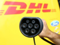 Deutsche Post DHL and Ford present their new StreetScooter Work XL electric van in Cologne