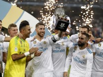 Fußball: Supercup - Real Madrid - FC Barcelona