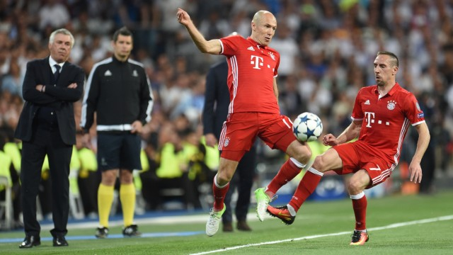 Real Madrid - Bayern München; Robbéry