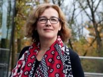 Hebamme Livia Görner im SZ-Hochhaus