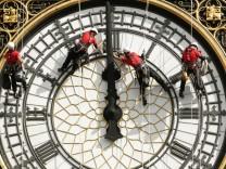 Reparaturarbeiten am Big Ben