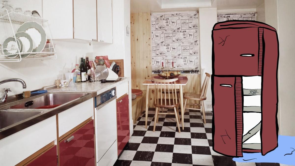 Bosch Kühlschrank Wasser Unter Gemüsefach : Bosch kühlschrank läuft wasser aus wasser im kühlschrank daran