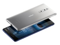 A handout picture of the new Nokia 8 phone
