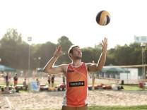 Volleyballer Pablo Karnbaum vom TSV Grafing