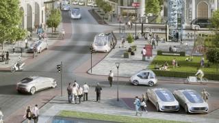 Mobilität der Zukunft: Bosch und Daimler kooperieren beim vollautomatisierten und fahrerlosen Fahren; WIR