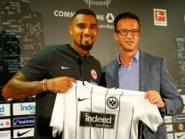 Football Soccer - German Bundesliga - new Eintracht Frankfurt player Kevin-Prince Boateng