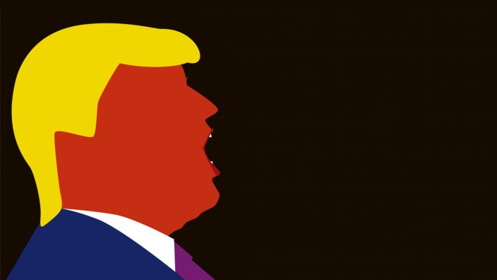 Trump in Gif-Style