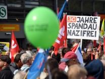 Demo gegen Neonazi-Aufmarsch