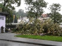 Sturmschaden in Bad Tölz