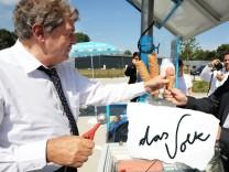 Regierender Bürgermeister besucht Florida Eis