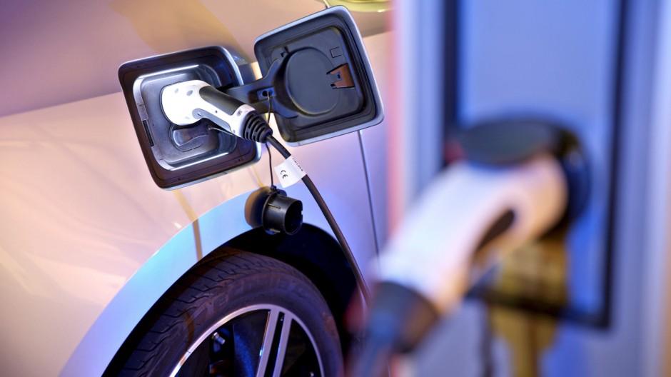 Ladesäule für ein Elektroauto