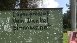 gemeinschädliche rechtsextremistische Sachbeschädigungen zum Nachteil der Gemeinde Gröbenzell