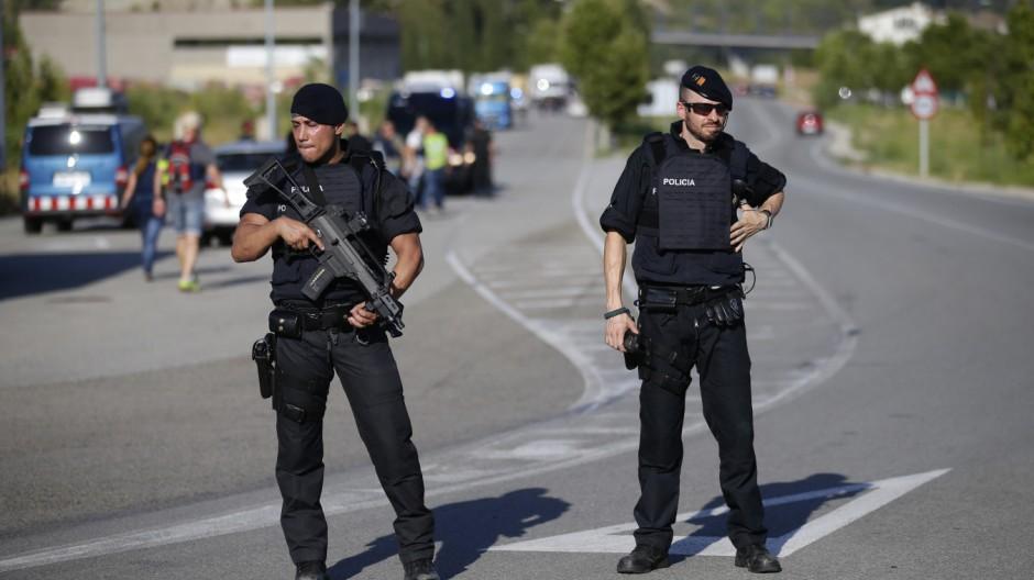 Terror in Spanien: Der Attentäter von Barcelona ist tot