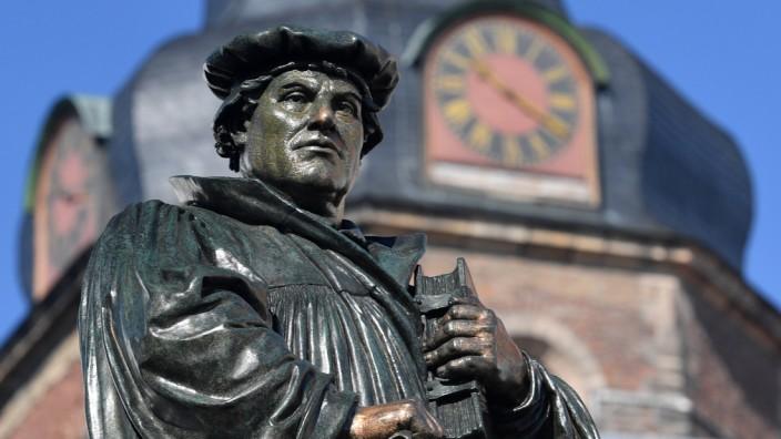 Luther-Denkmal in Eisleben