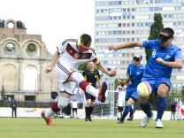Bilder des Tages SPORT IBSA Blindenfußball Europameisterschaft 2017 Berlin IBSA Blindenfußball Eu