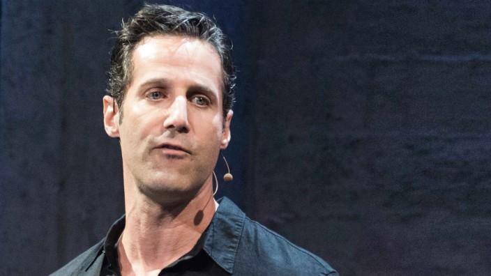 June 11 2015 San Jose CA United States of America Jason Rubin head of Studios at Oculus disc