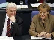 Steinmeier, Merkel, AP