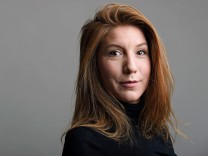 A photo of Swedish journalist Kim Wall who was aboard a submarine 'UC3 Nautilus' before it sank