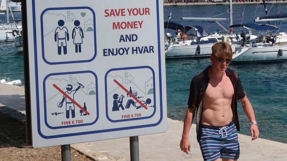 Tourismus Insel Hvar in Kroatien