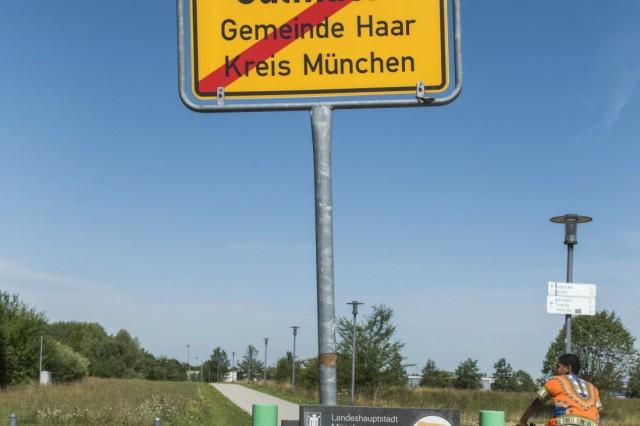 Haar, Salmdorf, Grenzgebiet München-Haar,