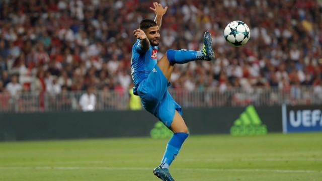 Champions League Playoffs - Nice v Napoli