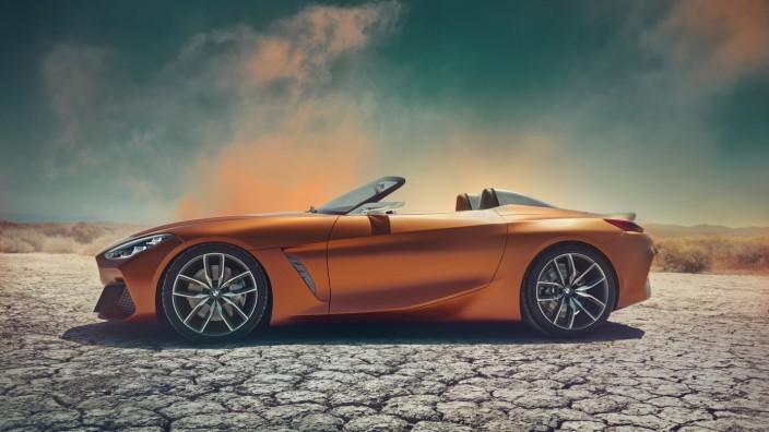 BMW-Designstudie soll auf nächste Generation des Z4 einstimmen