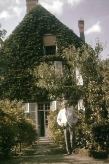 Jean Cocteau In Milly-La-Foret