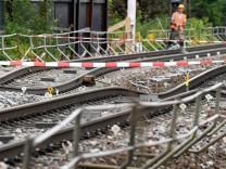 Bahntunnel bei Rastatt soll mit Beton gefüllt werden