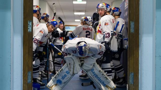 Bilder des Tages SPORT Ice hockey Eishockey Red Bulls Salute Prag vs RB Muenchen GARMISCH PART