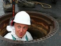Sommerserie Kanalarbeiter