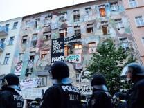Polizeieinsatz in Rigaer Straße
