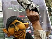 Proteste gegen Bush, AP