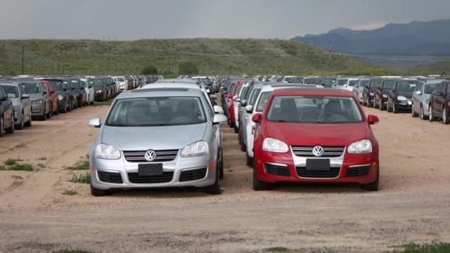 VW Dieselfriedhof