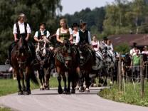 Traditioneller Rosstag von Rottach-Egern