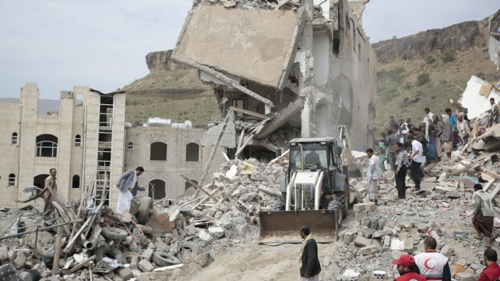Luftangriffe im Jemen