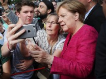 ***BESTPIX*** Merkel Hosts Open-House Day At Chancellery