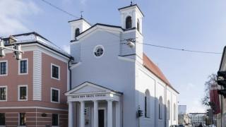 Heilig-Geist-Spitalkirche in Weilheim in Oberbayern