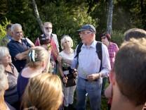 Haspelmoor: Siegfried Hagspiel führt durch das Haspelmoor