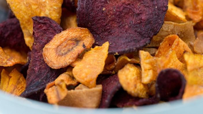 Gemüsechips enthalten zu viele Schadstoffe