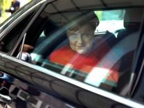German Chancellor Merkel news conference in Berlin