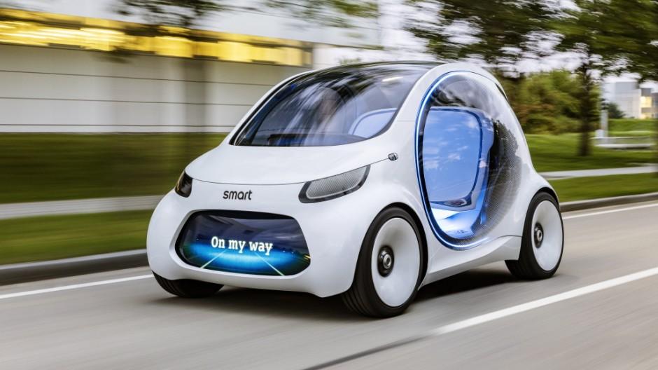 Mobilität der Zukunft Smart Vision EQ