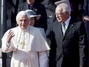 Der Papst in Tschechien, dpa